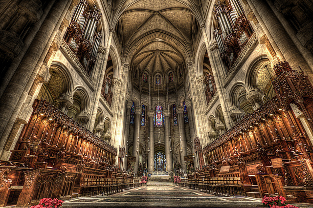 Cathedral of St. John the Divine in New York
