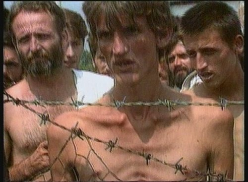 Bosnian Genocide (1992), Bosnian Muslim (Bosniak) prisoner Fikret Alic in Trnopolje concentration camp
