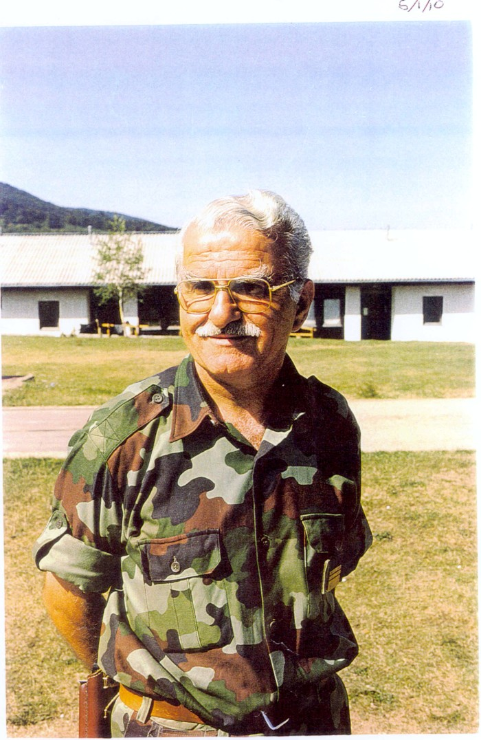 The Manjaca concentration camp was controlled by a Serb Lieutenant Colonel Bozidar Popovic.