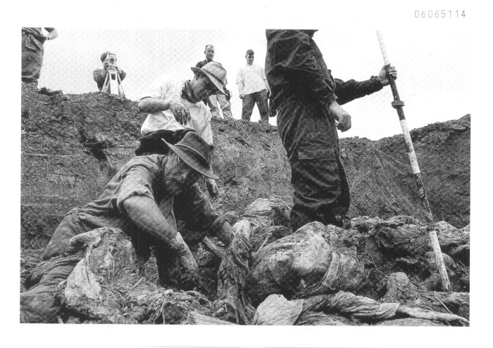 Photo: Pilica mass grave in eastern Bosnia holding remains of Bosniak (Bosnian Muslim) civilians killed by Serbs in the Bosnian Genocide. Credit: The International Criminal Tribunal for the Former Yugoslavia (ICTY).